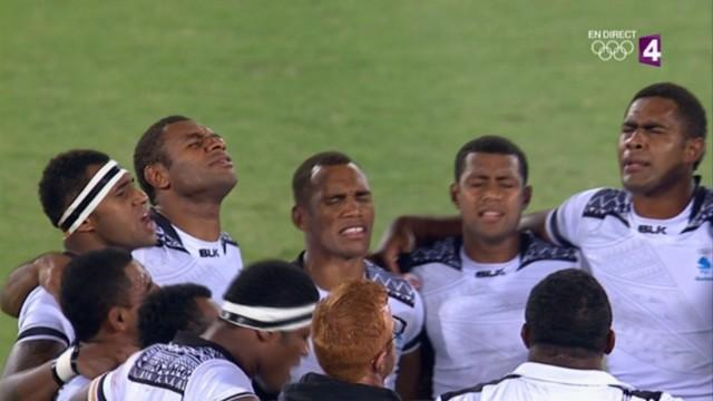 VIDEO. Rio 2016 - Les Fidji célèbrent leur titre olympique avec un chant à vous donner des frissons