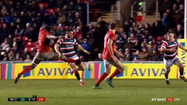 VIDEO. Premiership - Le contre spectaculaire de Maro Itoje devait-il être sanctionné ?