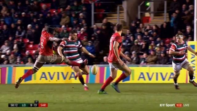 VIDEO. Premiership - Le contre spectaculaire de Maro Itoje devait-il être sanctionné ?
