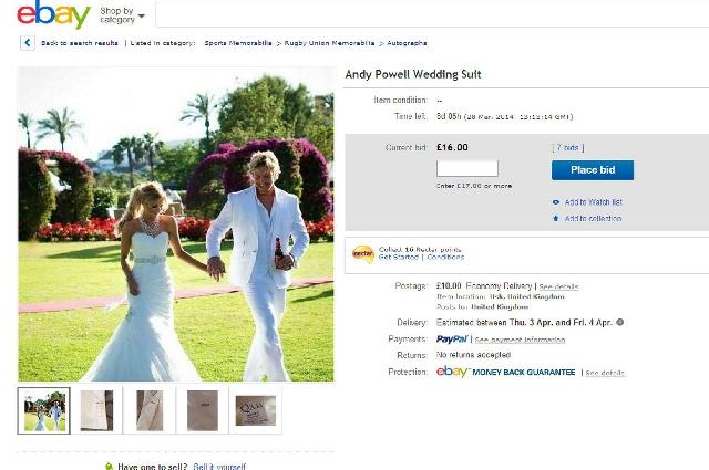 INSOLITE. Andy Powell humilié sur internet par son-ex-femme Natasha Gascoine