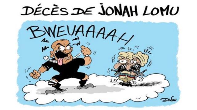 VIDEO. L'histoire et l'annonce du décès de Jonah Lomu en dessin