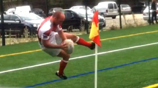 VIDEO. Rugby amateur #31 : l'essai de haute voltige refusé à l'AS Monaco après un gros fail acrobatique