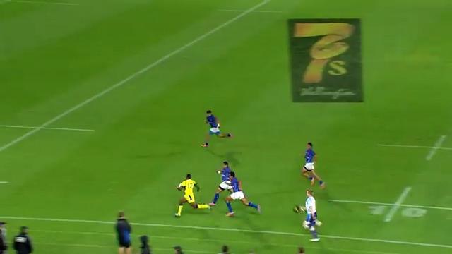 VIDEO. Le fantastique essai de 100m de l'Australien Shannon Walker à Wellington