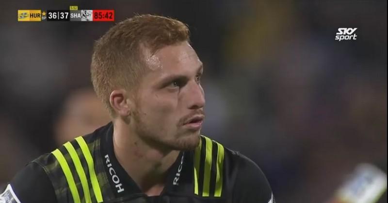 VIDEO. Super Rugby - Le futur Rochelais Ihaia West donne la victoire aux Hurricanes dans un match fou