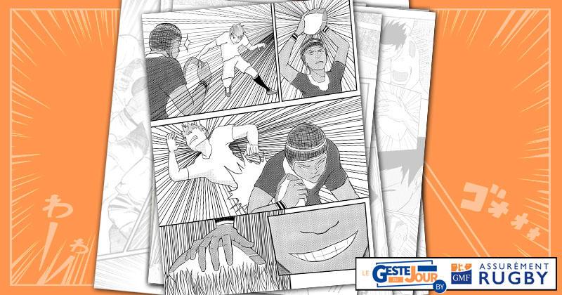 Le geste du jour en Manga : le crochet phénoménal de Cheslin Kolbe qui laisse Owen Farrell sur place !
