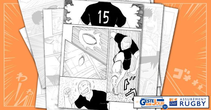 Le geste du jour en Manga : le drop stratosphérique de Stuart Hogg à 45m des poteaux !