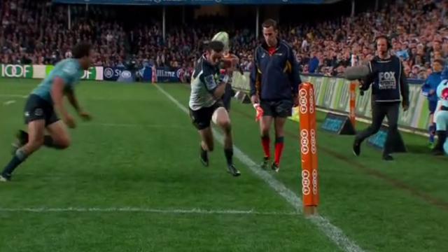 VIDÉO. Super Rugby : Le gros raté de Robbie Coleman contre les Waratahs en demi-finale