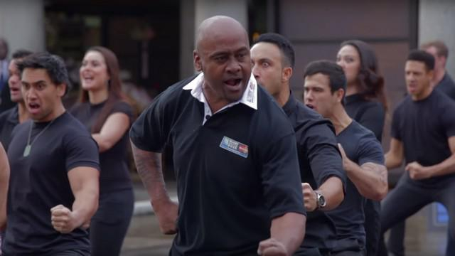 Le Haka de Jonah Lomu Totalement #Priceless