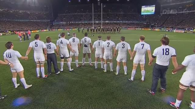 Video flashback seulement cinq rescap s chez les bleus - Finale coupe du monde de rugby 2011 video ...