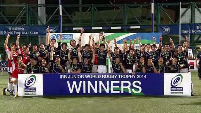 VIDEO. Le Japon continue sa folle ascension grâce à ses jeunes pépites victorieuses de l'IRB Junior World Rugby Trophy