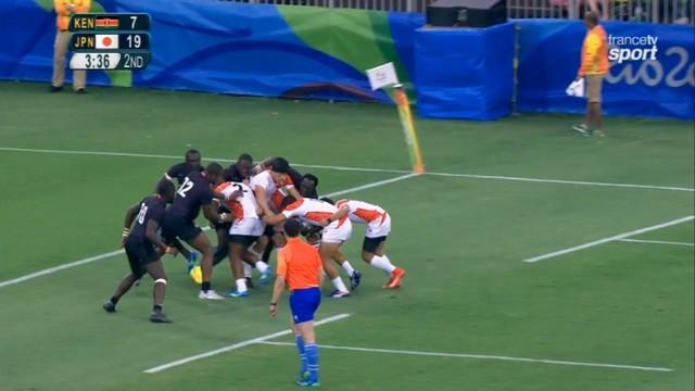 VIDÉO. Rio 2016 - Le Japon enfonce le Kenya avec un ballon porté et retrouvera la France en quart
