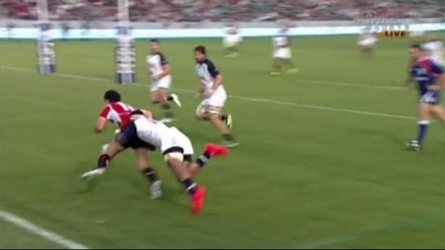 VIDÉO. USA - Japon : Kenki Fukuoka se rate dans l'en-but, mais les Japonais l'emportent avec la manière (29-37)