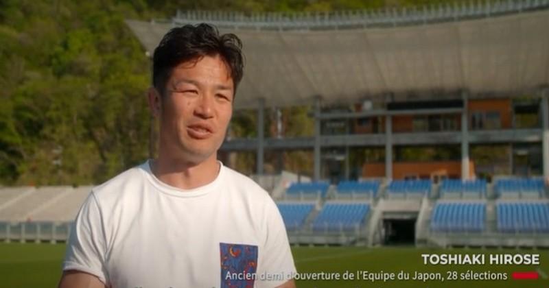 Promouvoir toute sorte de rugby, voilà ce qui motive l'ancien ouvreur des Brave Blossoms Toshiaki Hirose