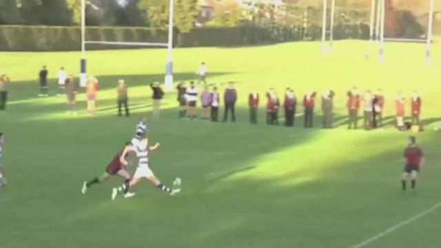 VIDEO. Le jeune Anglais Charlie Kingsman marque un sublime essai après un contrôle du pied en pleine course