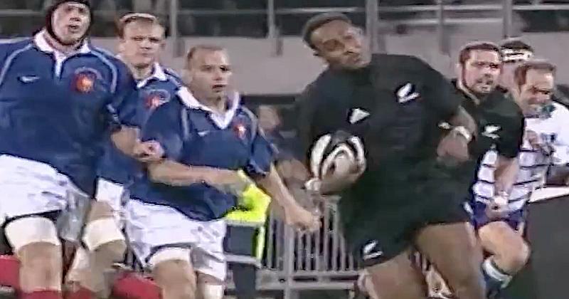 VIDEO. Le jour où Joe Rokocoko a mis le XV de France à genoux avec un incroyable triplé !