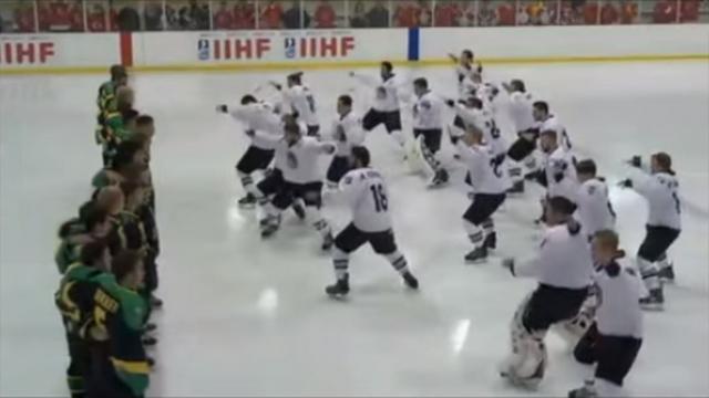 VIDEO. Insolite. Le haka des All Blacks repris sur la glace par les jeunes hockeyeurs néo-zélandais
