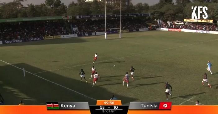 RÉSUMÉ VIDÉO. Rugby Africa Gold Cup. 100 à 10, le Kenya n'a laissé aucune chance à la Tunisie