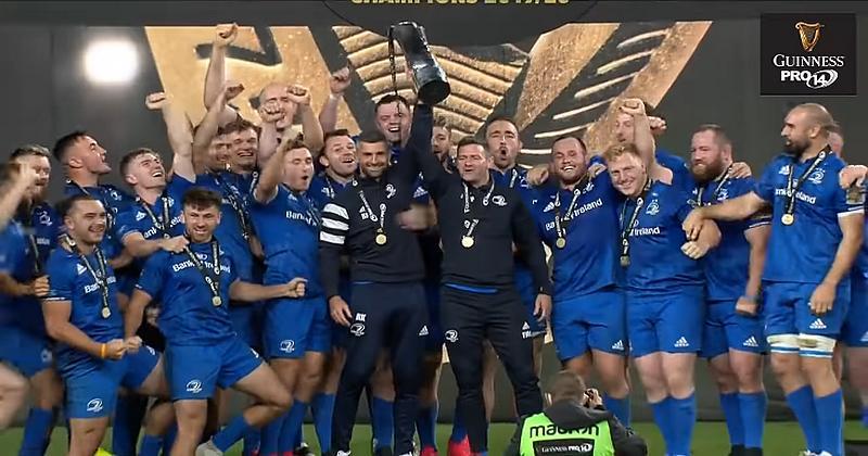 PRO 14 - Le Leinster réalise le triplé en battant l'Ulster en finale (VIDEO)