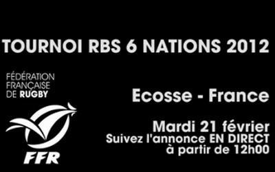 Le live de l'annonce du groupe France  face à L'Ecosse