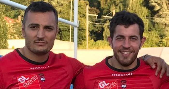PHOTOS. Le LOU dévoile son nouveau maillot extérieur pour la saison 2017-2018