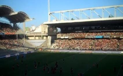Le LOU Rugby au Stade Gerland en 2015