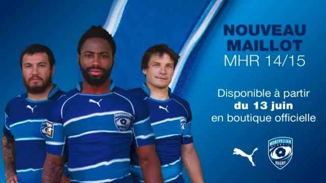 MHR : Montpellier présente son nouveau maillot pour la saison 2014/2015