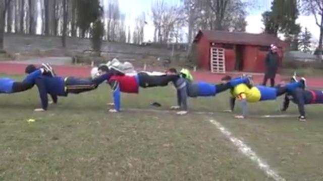VIDEO. Insolite : la méthode d'entraînement WTF qui fait mal aux bras et travaille la cohésion