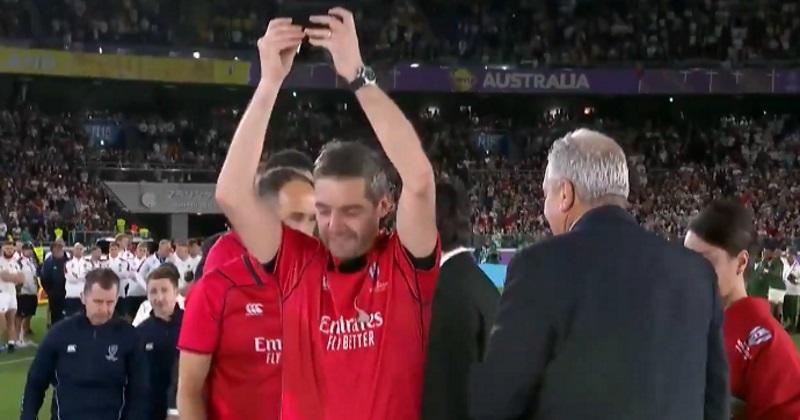 Le moment où Jérôme Garcès est (un peu) devenu champion du monde ! [VIDEO]
