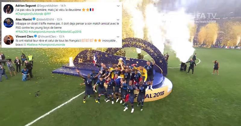 RESEAUX SOCIAUX. Le monde du rugby célèbre la victoire des Bleus à la Coupe du monde