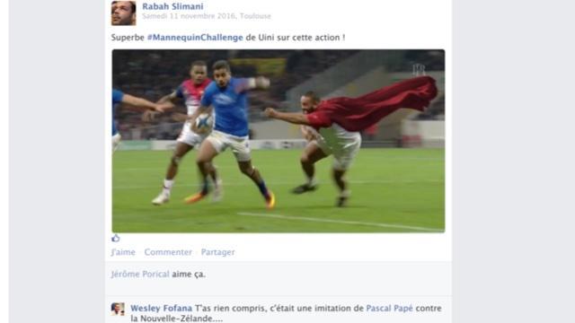 Le mur Facebook du XV de France de Guy Novès, épisode 6