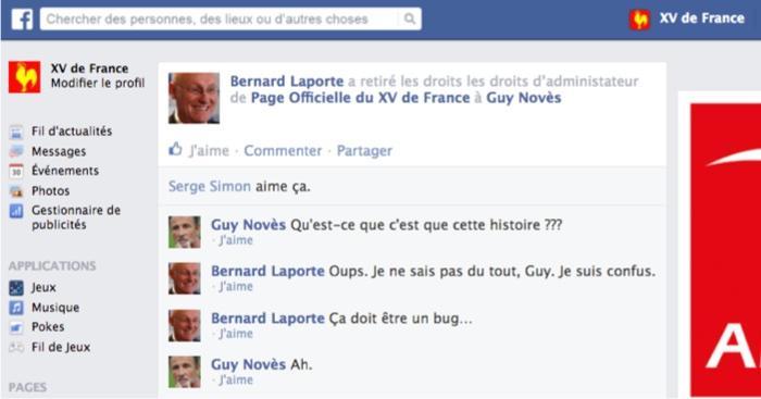 Le mur Facebook du XV de France de Jacques Brunel, Saison 1, Épisode 1