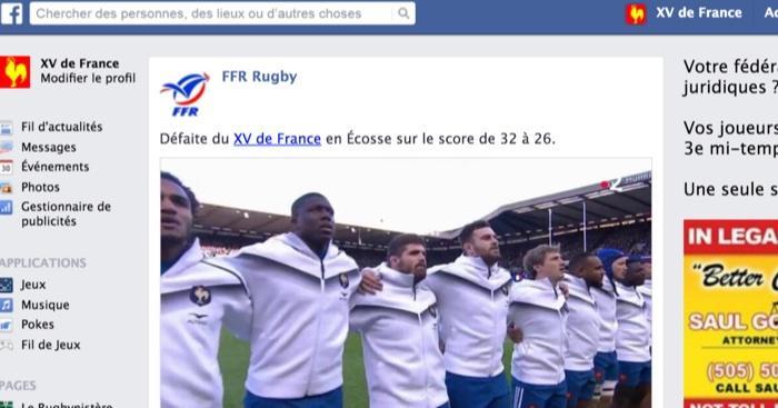 Le mur Facebook du XV de France de Jacques Brunel, saison 1, épisode 2
