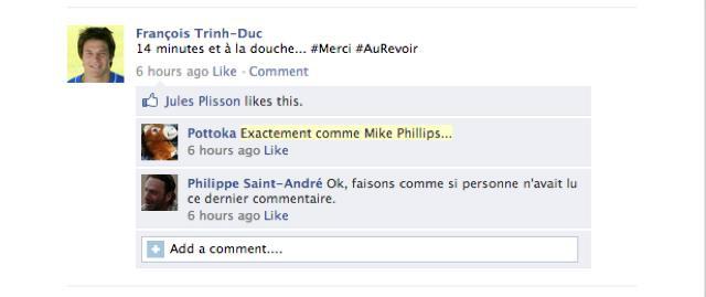 Le mur Facebook du XV de France, épisode 3.