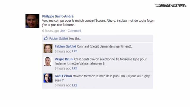 Le mur Facebook du XV de France, épisode 4