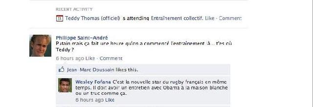 Le mur Facebook du XV de France, épisode 6