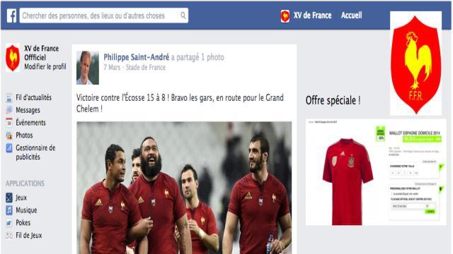Flashback - Tournoi des 6 Nations 2015. Quand Ovale Masqué infiltre le mur Facebook du XV de France