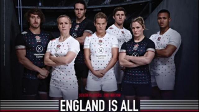 PHOTO. L'équipe d'Angleterre révèle son nouveau maillot pour le Seven