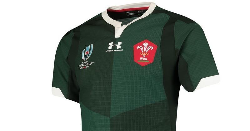 Le Pays de Galles dévoile un superbe maillot vert pour la Coupe du monde 2019 [PHOTOS]