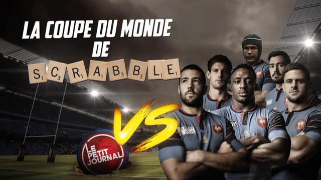 VIDEO. INSOLITE. Le Petit Journal défie le XV de France à la Coupe du monde de scrabble