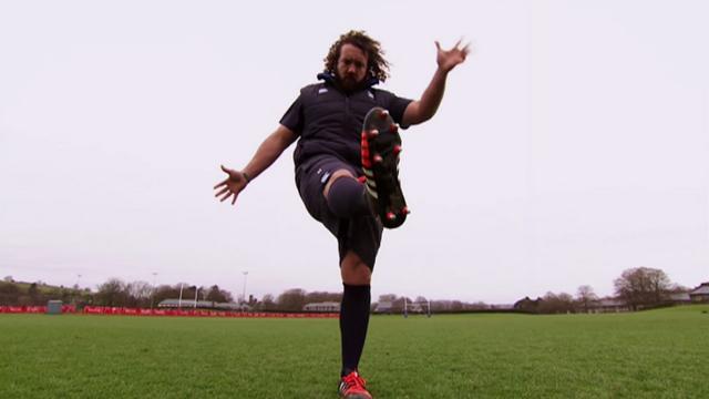VIDEO. Le pilier gallois Adam Jones nous livre ses secrets pour réussir un drop