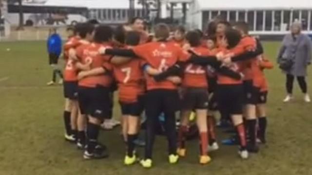 VIDEO. Le Pilou Pilou monumental des U12 du RCT après une victoire dans un tournoi