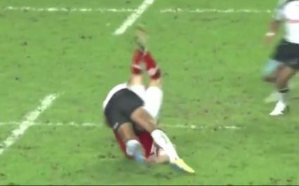 Ilai Tinai suspendu 5 matchs pour un plaquage dangereux en finale