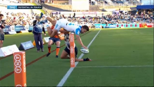 Vidéo. Super 18 : Matt Duffie pas loin d'inscrire un essai incroyable