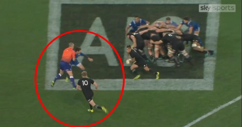 VIDÉO. All Blacks vs France. Le premier essai de Damien McKenzie était-il valable ?