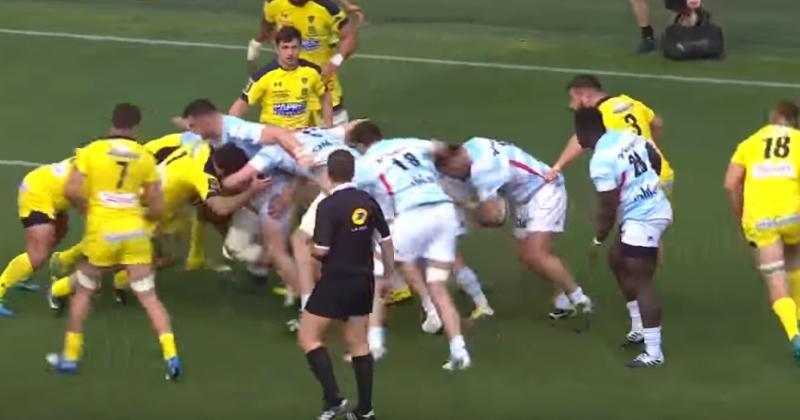 Le Racing 92 manque de faire tomber l'invincibilité de Clermont dans un match complètement fou ! [VIDEO]