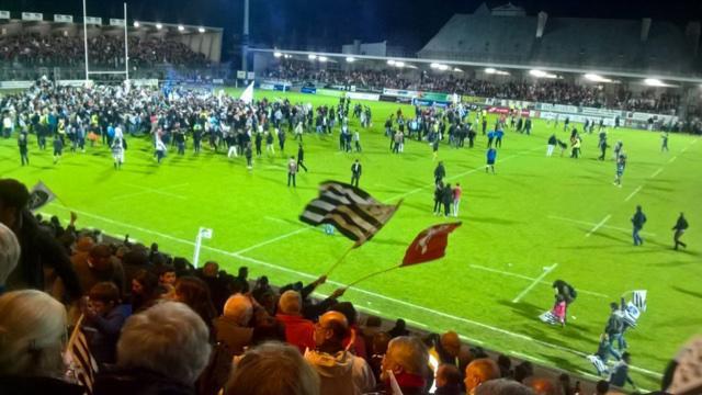 VIDÉO. Le RC Vannes accède à la Pro D2 après sa victoire contre Massy (25-13)