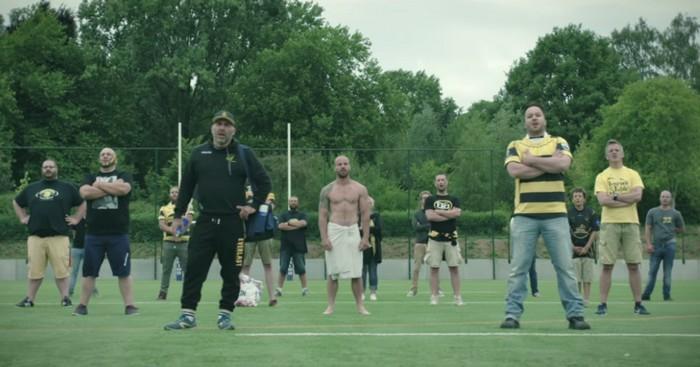 VIDÉO. INSOLITE. Belgique - Le Rugby Club Frameries fait sa promotion en chanson