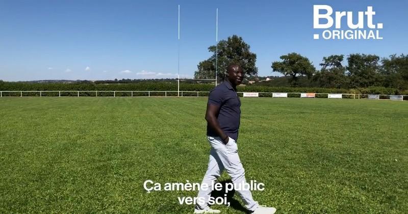 Le rugby, vecteur d'intégration et de réussite pour Simon Worou dans un village de l'Aveyron [VIDEO]
