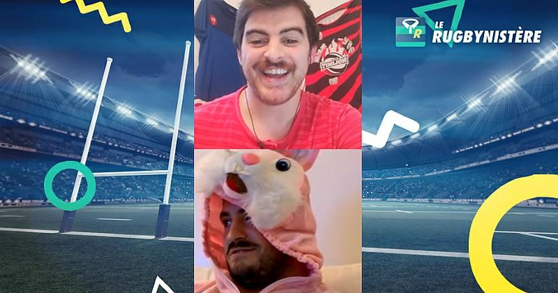 Le Rugbynistère à domicile avec Yohan Beheregaray et des invités surprises [VIDEO]