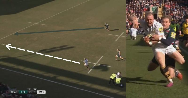 VIDEO. Premiership. Le sauvetage venu d'ailleurs de Mathew Tait sur Dan Robson